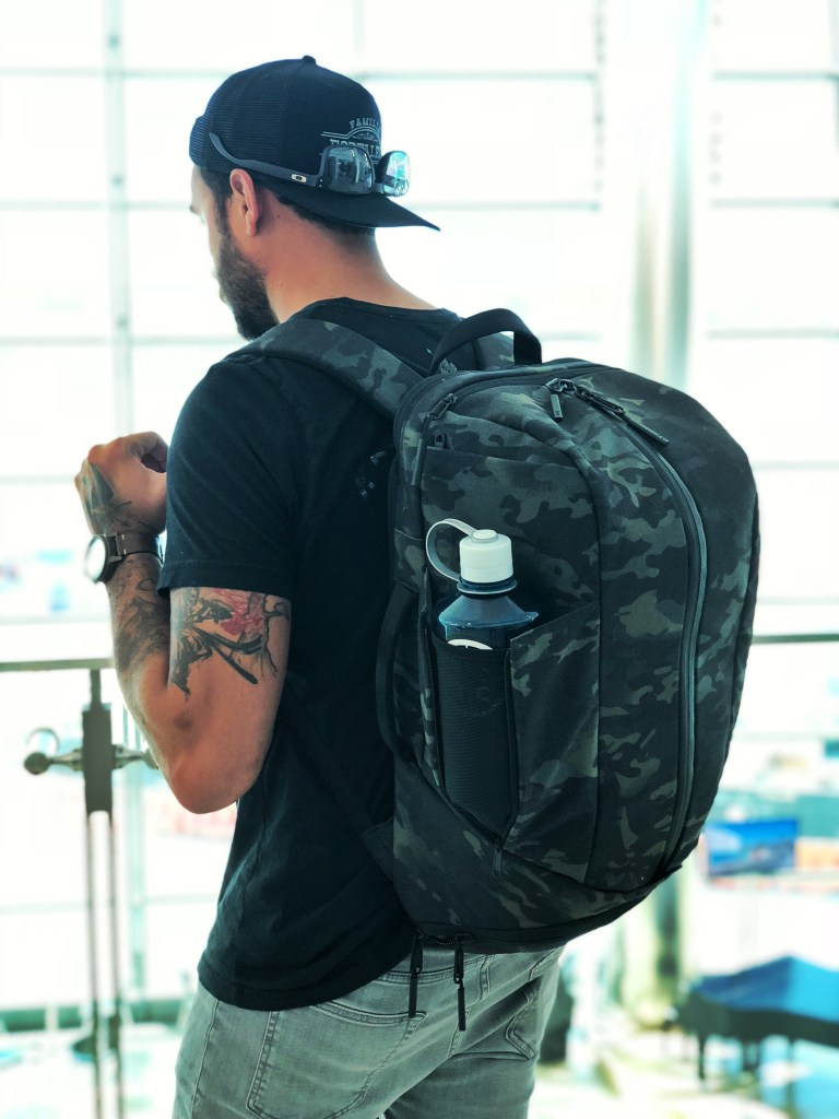 Aer Multicam collaboration - The bag for the Digital Nomad