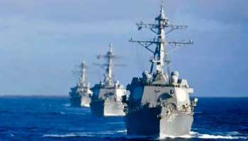 US Tells China They Have Experience Taking Down Small Islands