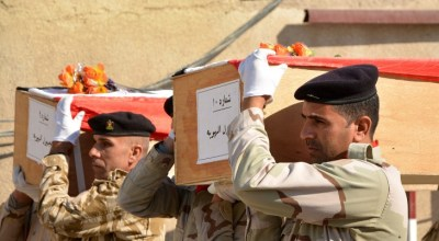 Iran finally sends the remains of Iraq's fallen soldiers home after 30 years