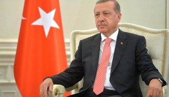 Erdogan is re-elected and Turkey moves away from a parliamentary government