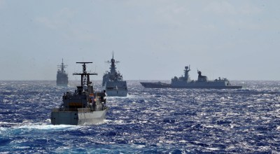After China was disinvited from international Navy exercise they sent a spy ship instead