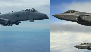 US Air Force begins long touted F-35 vs A-10 showdown without announcing it to the public