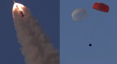 The Pic of the Day: Indian space agency tests rocket escape module