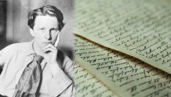 Pages of War: 'Safety' by Rupert Brooke