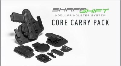 "Alien Gear Holsters renames ShapeShift ""Starter Kit"" to ""Core Carry Pack"""
