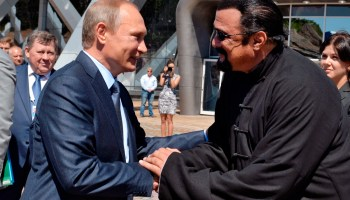 Steven Seagal officially named Russian special envoy to the US