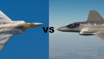 American F-22s squared off against Norwegian F-35s in a mock dogfight and no one's saying who won