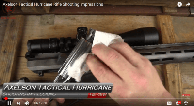Axelson Tactical Hurricane Rifle: Graham Baates VIDEO