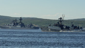 Russia's sending a fleet of warships to Syria to help secure a propaganda victory