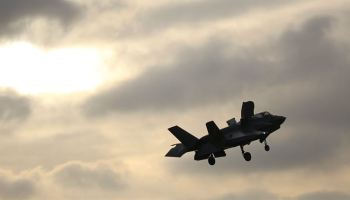 F-35 crashes in South Carolina days after first entering combat operations