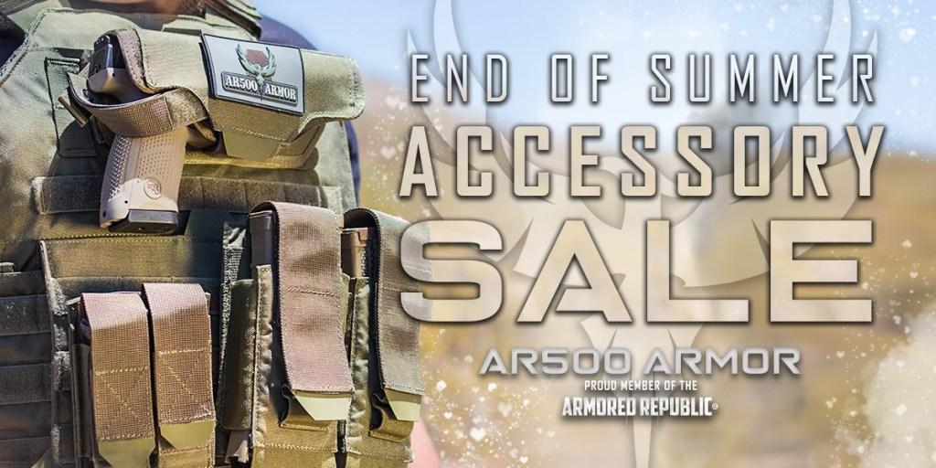 AR500 Armor End of Summer Clearance!