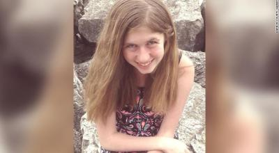 Jayme Closs is 5-feet tall, 100 pounds with green eyes and blonde or strawberry hair, according to the BCSD.  (Barron Count Sheriff's Department)