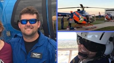 Flight paramedic Kitt Hunter/ Images courtesy of Kitt Hunter
