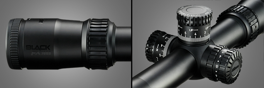 First Look: Nikon BLACK FX1000 6-24×50SF Long Range Rifle Scope