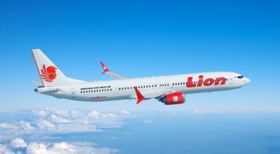Boeing illustration of 737 with Lion Air livery/ courtesy Boeing