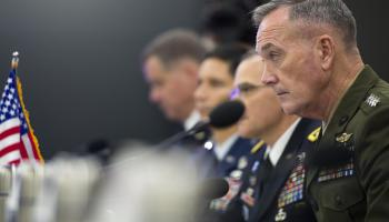 General Dunford: US isn't in a new Cold War because military is focused on 'deterrence'