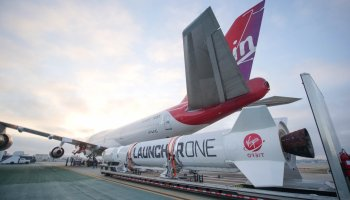 The Pic of the Day: Virgin Orbit wants to launch satellites like missiles from the wing of a 747