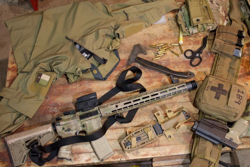 A Private Military Contractor's Short Range Loadout