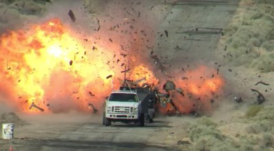 Watch: Naval weapons test range shows off different ways to blow you up from the sky