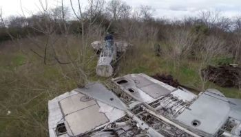 YouTuber discovers American fighter jets left to rot in the woods