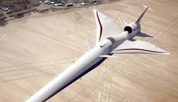 Lockheed Martin announces plans to test sonic boom-less supersonic plane within 3 years