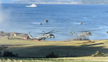 The Pic of the Day: NATO puts on a land, air, and sea show in Norway