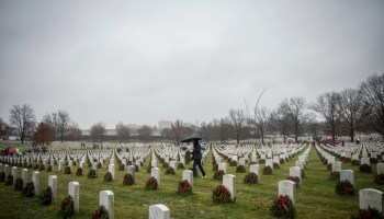 The Pic of the Day: The 27th National Wreaths Across America Day at Arlington National Cemetery