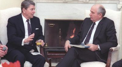 The UFO Question: President Reagan was concerned about UFOs, and he brought it up to Gorbachev