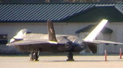 Mind blowing photo appears to show China's most advanced fighter at an airport in Georgia… So what is it?