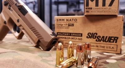M17 9mm +P Ammunition from SIG SAUER