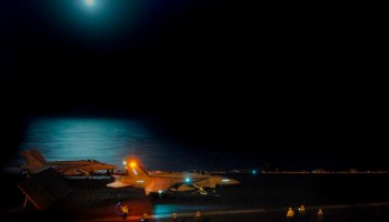 Listen to a Super Hornet pilot describe intercepting UFOs over the USS Nimitz in 2004