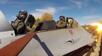 Watch: Ever wonder how they test ejection seats? With rocket trains, of course