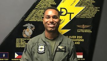 Marine Corps identifies Capt. Jahmar F. Resilard as the Hornet pilot that died in tanker collision Thursday