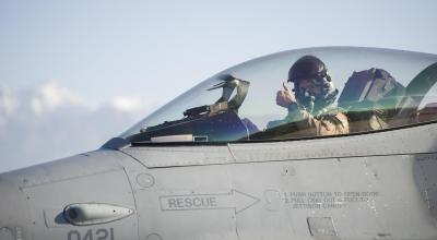 Peeing your pants in the cockpit has never been better: Fighter pilots receiving new urine collection and storage gear