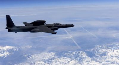U-2 spy plane flies over California using the aviation code for Star Trek's USS Enterprise