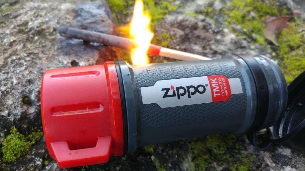 Zippo Typhoon Match Kit: Light it up