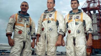 Remembering NASA astronauts Gus Grissom, Ed White II and Roger Chaffee on the anniversary of the Apollo 1 tragedy