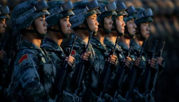 China's growing military will soon be able to 'impose its will in the region' according to new US intelligence report