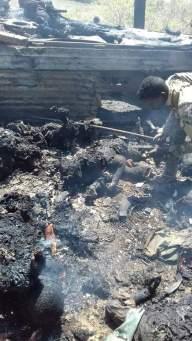 Al Shabaab convoy after AFRICOM airstrike