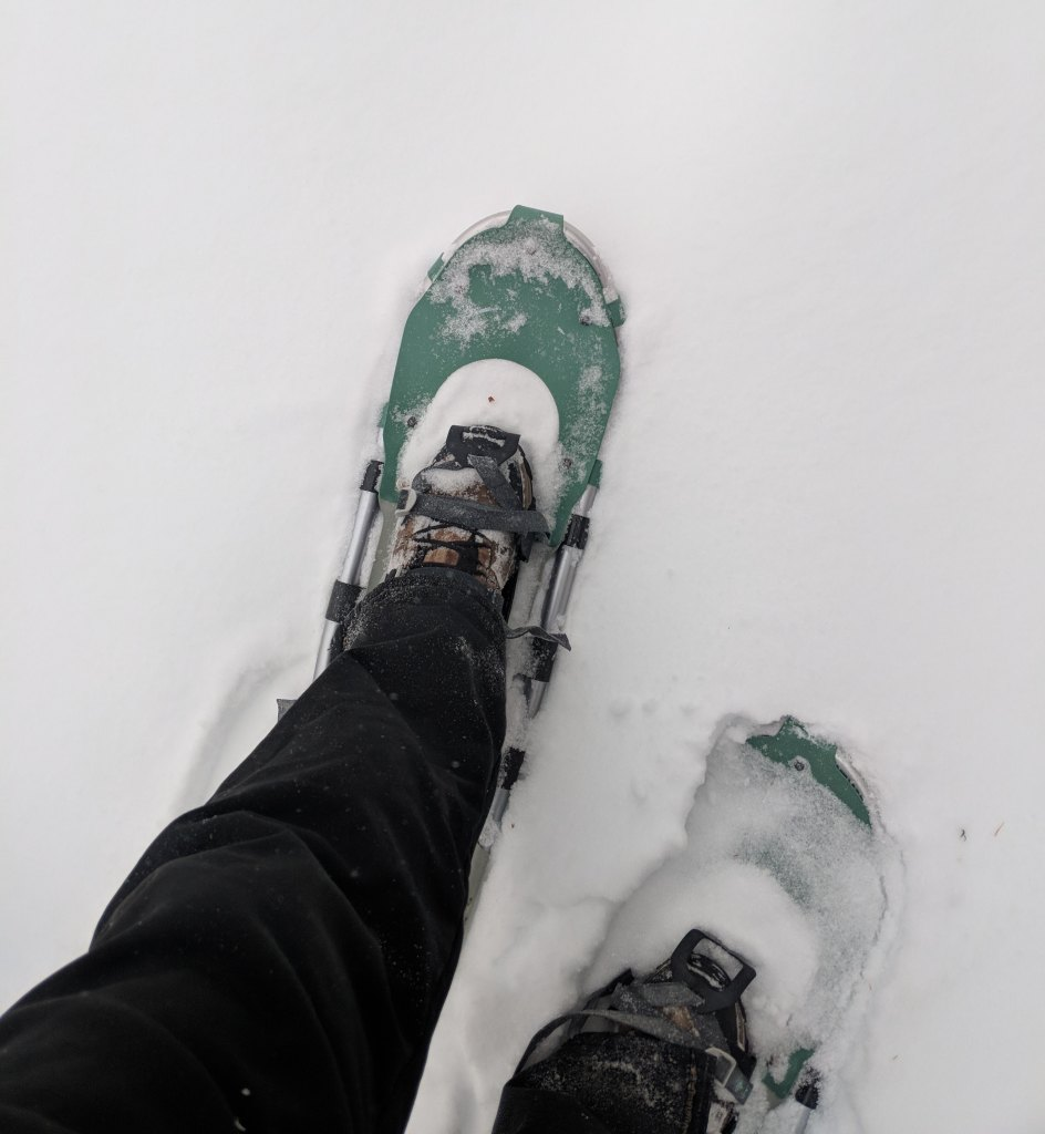 Rucking Trails in Deep Snow? Try Something New, Go Snowshoeing