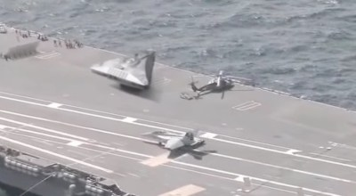 Another fake UFO video hits the web: Aliens aboard US aircraft carriers?
