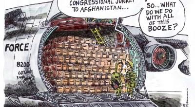 Cartoon by Bob Lang