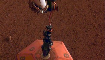 The Pic of the Day: Deploying a Martian seismometer