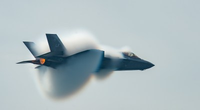 The Pic of the Day: F-35 on a high speed pass