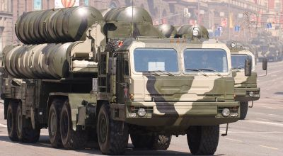 A shipment of Russian S-400 missiles was apparently 'lost at sea' en route to China