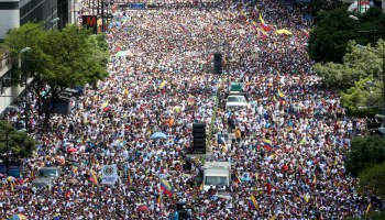 The Pic of the Day: Opposition protests continue in Venezuela