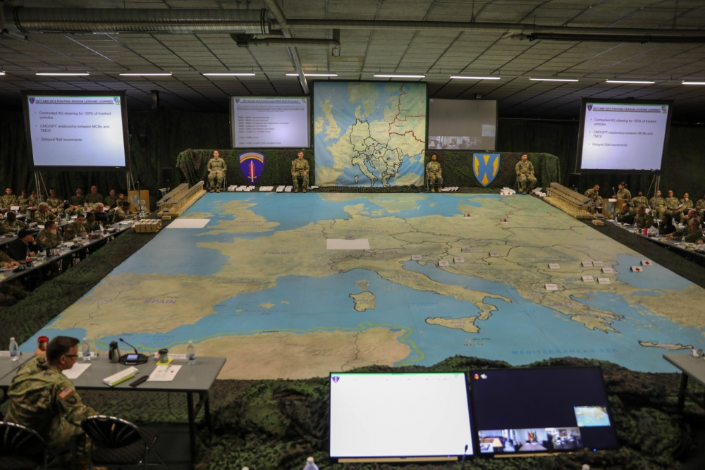 The Pic of the Day: US Army leads planning efforts for European defense drills