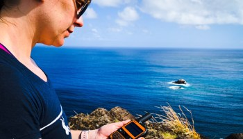 Photo of the day: Staying in touch via satellite with Spot X 2-way messenger