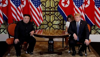 The Pic of the Day: President Trump leaves North Korea without an agreement