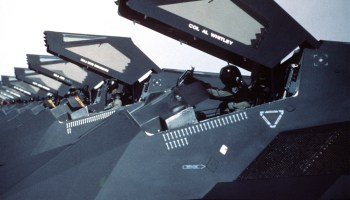 The Dark Knights: F-117 spotted sporting the name of a squadron that shouldn't exist